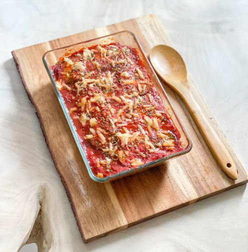 You are currently viewing Parmigiana d'aubergines au Calabizo